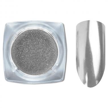 01 Зеркальный блеск ХРОМ втирка для ногтей 0,2 гр. Cosmake Серебро