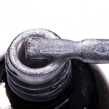 0045 Гель-лак с липким слоем 11мл Cosmake Серый с блестками