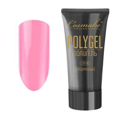 06 Полигель нежно-розовый 60 мл Cosmake