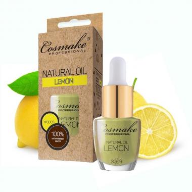 3009 Масло Лимон для ногтей и кутикулы натуральное 16 мл Cosmake