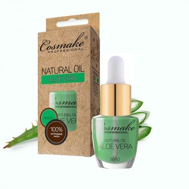 3010 Масло Алоэ для ногтей и кутикулы натуральное 16 мл Cosmake