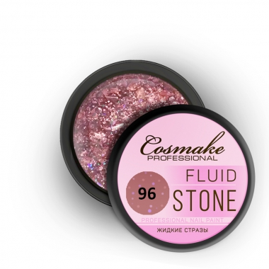 096 Гель Fluid Stone 5гр. Cosmake Розовый