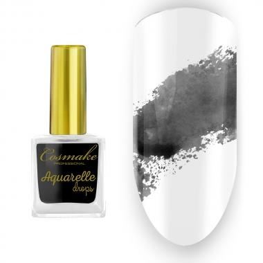03 Краска Aquarelle Drops Черная Cosmake 9 мл