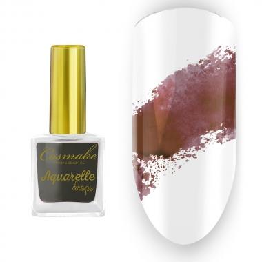 09 Краска Aquarelle Drops Коричневая Cosmake 9 мл