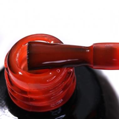 0132 Гель-лак с липким слоем 11мл Cosmake Оранжево-Коралловый