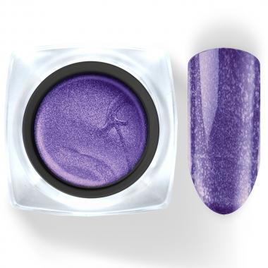 112 Гель-краска Паутинка 5г фиолетовая с блестками Cosmake Premium