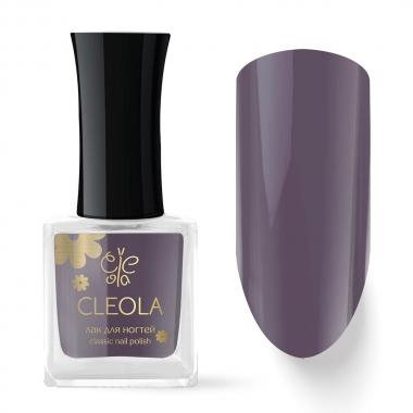 80 Лак для ногтей Cleola 9 мл Серо-Сиреневый