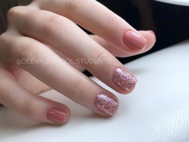 096 Гель Fluid Stone 5гр. Cosmake Premium  Розовый