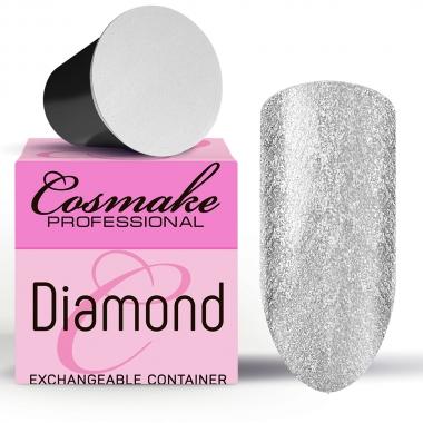 Z101 Гель-лак жидкая фольга серебро Diamant  5г Cosmake Premium