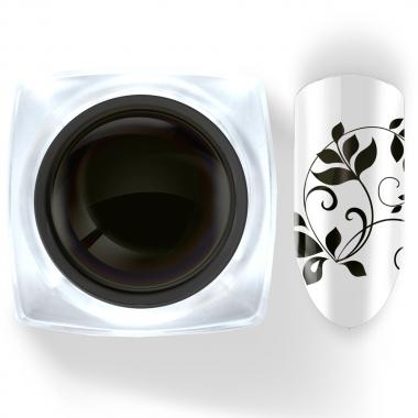 02 Гель-краска б/лип слоя черная 5г Cosma Premium