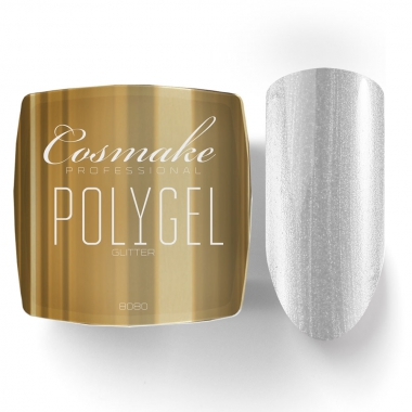 8080 Полигель камуфляж жемчужный с глиттером 15г Cosmake Premium