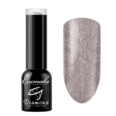 116 Гель лак жидкая фольга Diamond 6мл Cosmake Бежево-Стальной