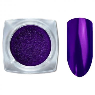 13 Зеркальный блеск ХРОМ втирка для ногтей 0,2гр. Cosmake Фиолетовый