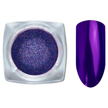 01 Зеркальный блеск Галактика втирка для ногтей 1гр. Cosmake Фиолетовый