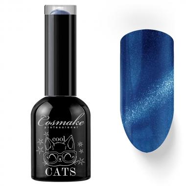 12 Кошачий глаз гель-лак 11 мл Cosmake сине-фиолетовый