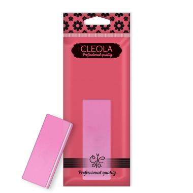 21НF Пилка-полиров  Buff Pink mini 80/120 Cleola/24