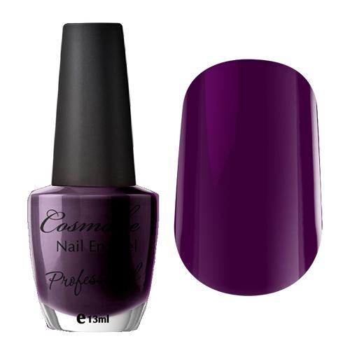 030 Лак для ногтей Professional Cosmake 16мл Темно-Сливовый (плотный оттенок)
