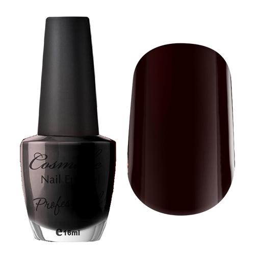 054 Лак для ногтей Professional Cosmake 16мл Темно-Вишневый