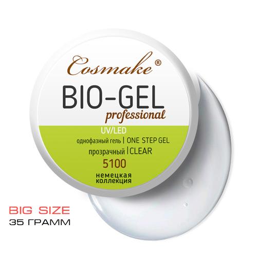 Гель Bio прозрачный 35 гр для укрепления LED/УФ (5100)