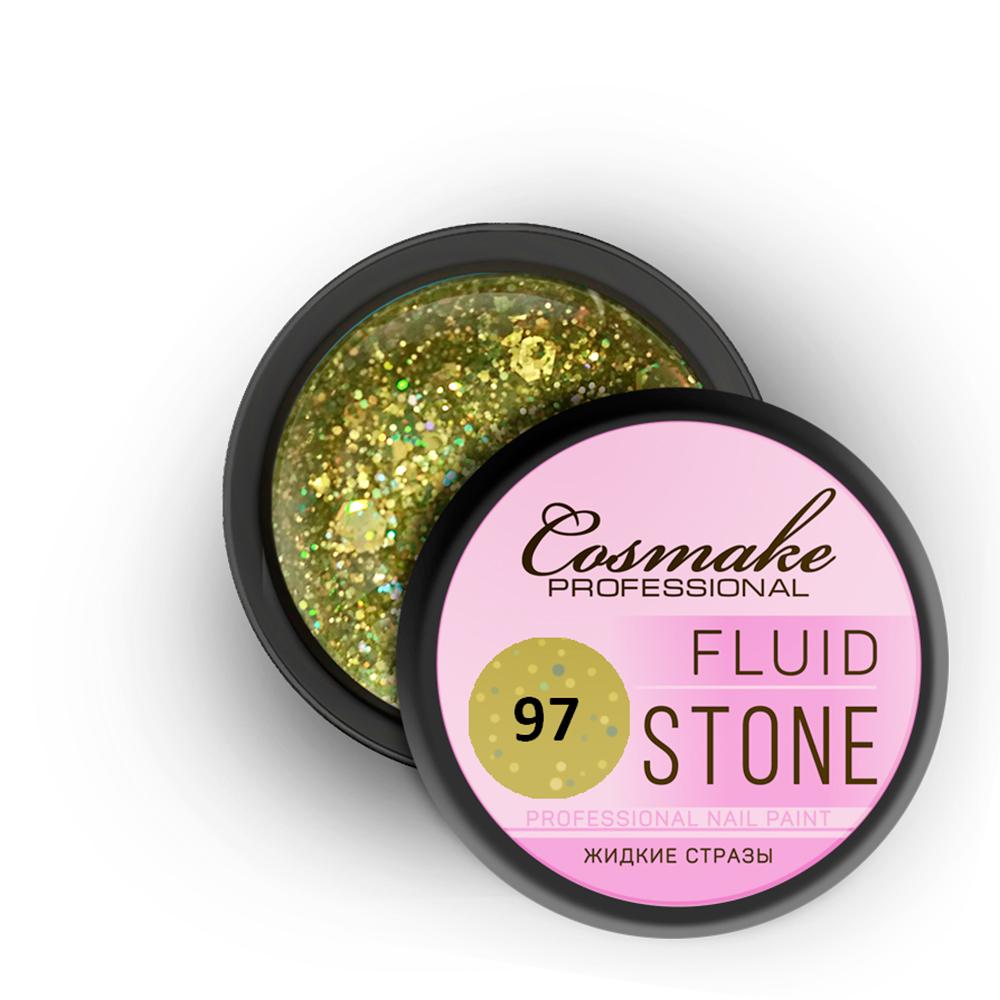 097 Гель Fluid Stone 5гр. Cosmake Желтый