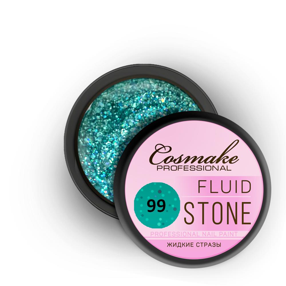 099 Гель Fluid Stone 5гр. Cosmake Лазурный