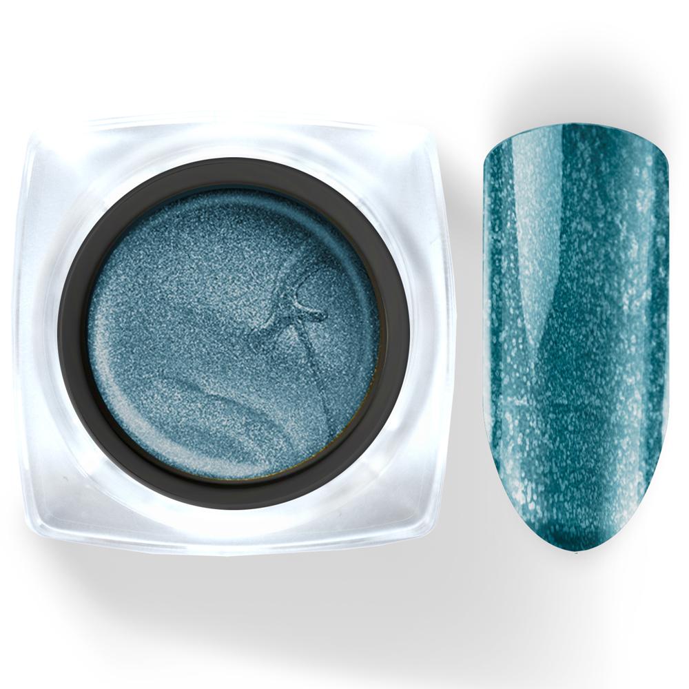106 Гель-краска Паутинка 5г лазурная с блестками Cosmake Premium