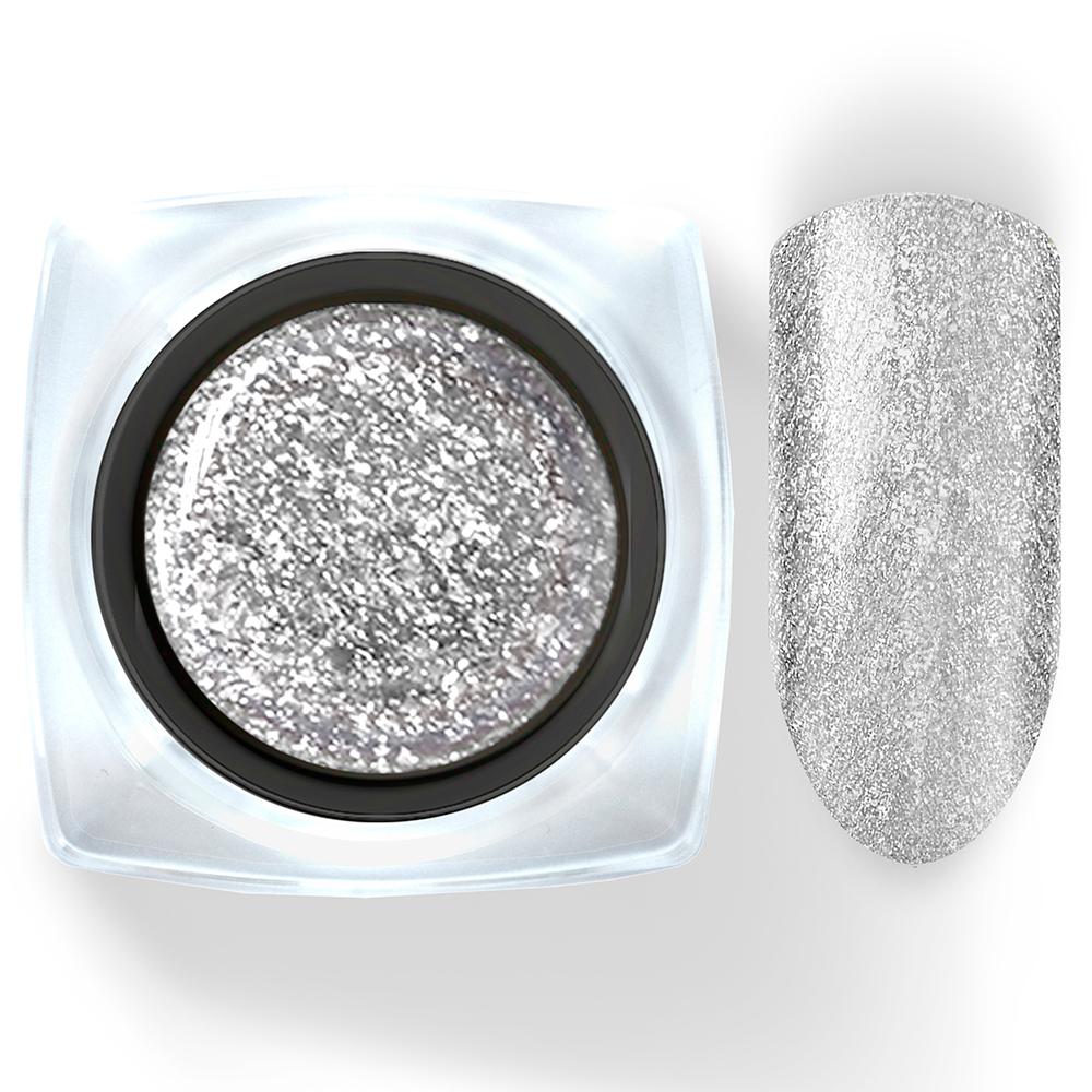 101 Гель-лак жидкая фольга серебро Diamant 5г Cosmake Premium