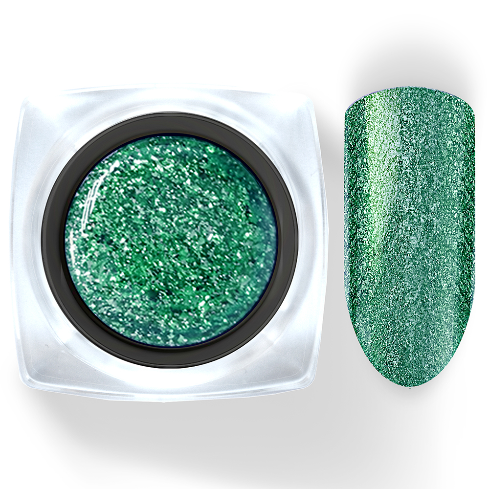 105 Гель-лак жидкая фольга Зеленый Diamant  5г Cosmake Premium
