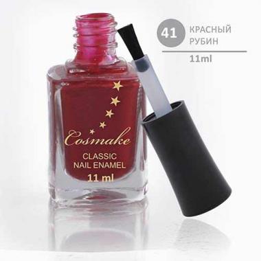 Лак для ногтей Classic 41 Красный Рубин