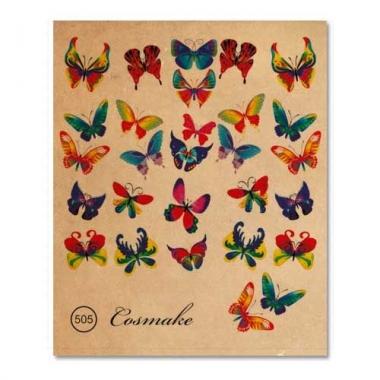 Фотодизайн 505 Бабочки цветные