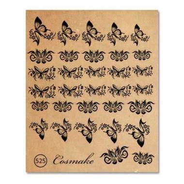 Фотодизайн 525 Бабочки чёрные