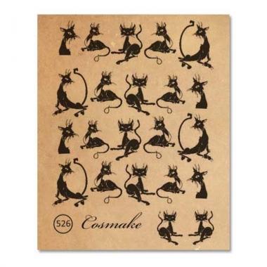 Фотодизайн 526 Кошка чёрная