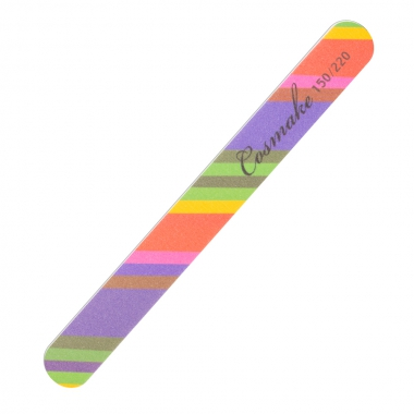 Пилка для натуральных ногтей Радуга 150/220 грид (NF-36)