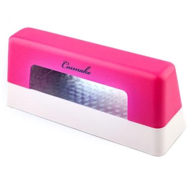 Лампа УФ 9 Ватт для геля розовая (UV-01)