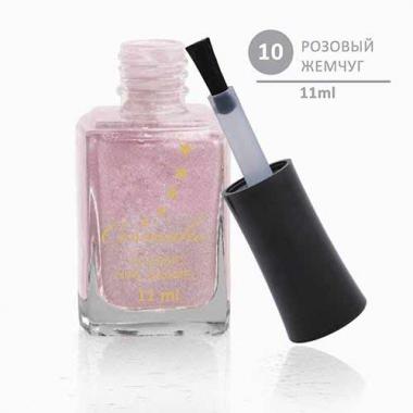 Лак для ногтей Classic 10 Розовый Жемчуг