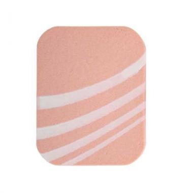 Спонж  прямоугольный розовый Зебра (SP-11)