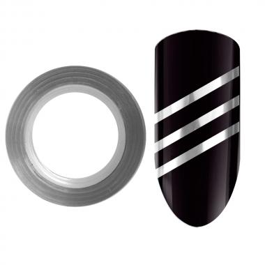 Лента для дизайна ногтей Color Line 2 Серебро