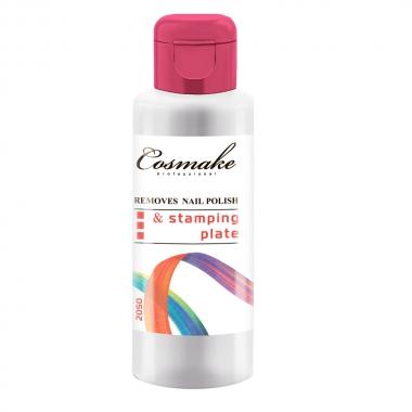 100 мл. Жидкость д/снятия лака и стемпинга Cosmake