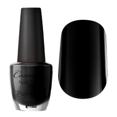 08 Лак для ногтей Professional Cosmake 16мл Черный