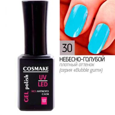 Гель-лак Classic 30 Небесно-голубой