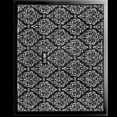 Наклейка для ногтей 303 Deluxe Silver Voile