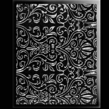 Наклейка для ногтей 309 Deluxe Silver Voile