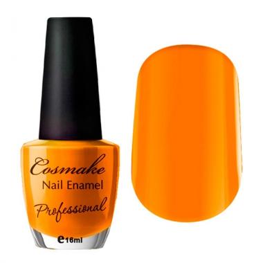 065 Лак для ногтей Professional Cosmake 16мл Оранжевый