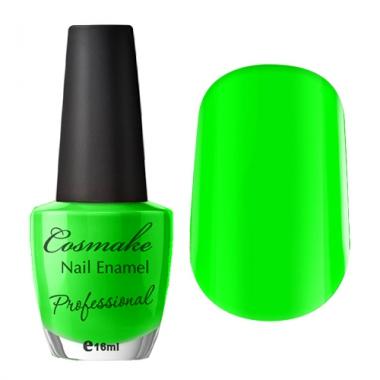 Лак для ногтей 66 Ядерный зеленый