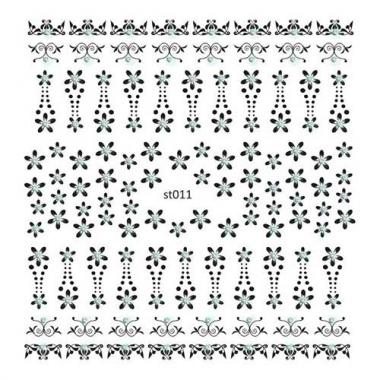 110 Наклейки со стразами Cleola Beauty/12