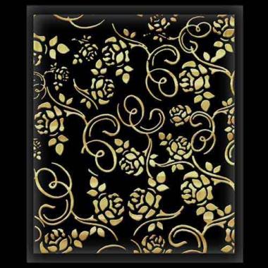 Наклейка для ногтей 334 Deluxe Gold Voile