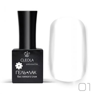 Гель-лак УФ/LED Cleola 01 11 гр.Белый