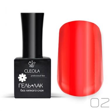 Гель-лак УФ/LED Cleola 02  11 гр. Красный