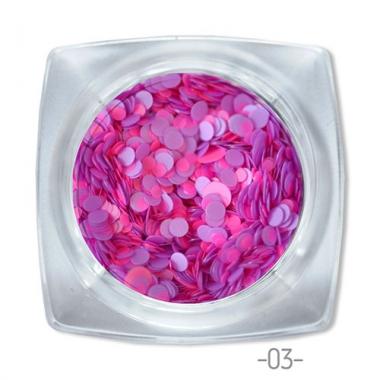 03 конфетти для дизайна ногтей