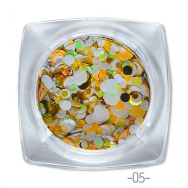 05 конфетти для дизайна ногтей